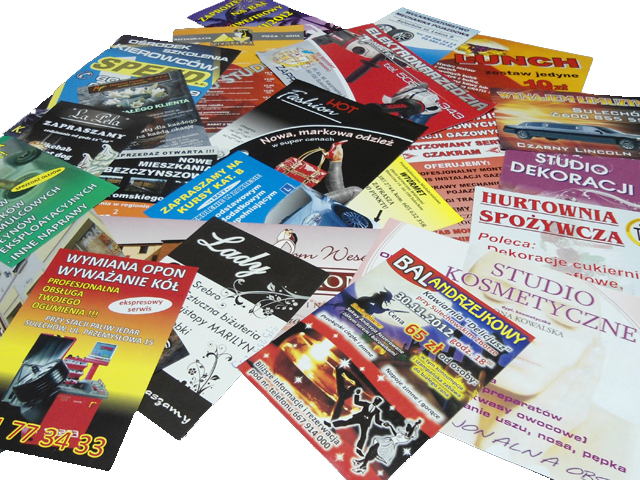 Wizytówki Ulotki Plakaty Stella Pracownia Reklamy
